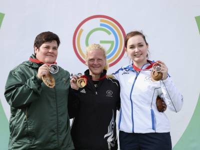 Two golds highlight big day