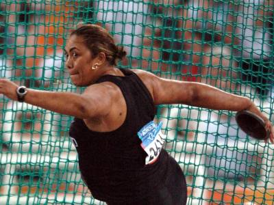 Athens Results Upgraded for Faumuina/Adams