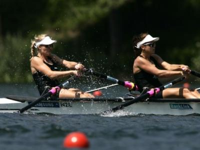 World best time for lightweight double sculls