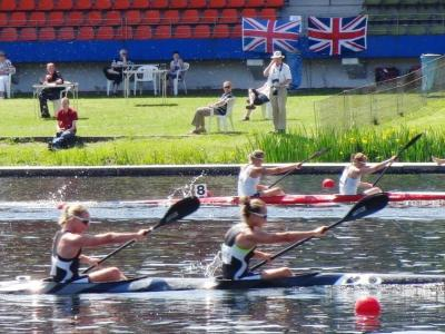 High level competition on second day at Canoe Sprint World Cup