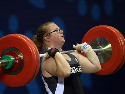 Silver Medallists LIfting High for Glasgow