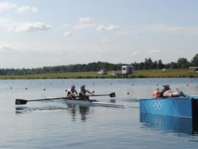Promising start for rowers