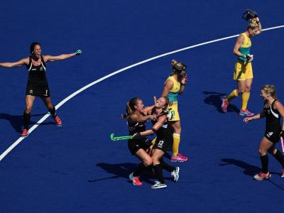 Outstanding performance by hockey women