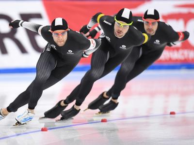 Kiwi speed skaters win bronze in the Netherlands