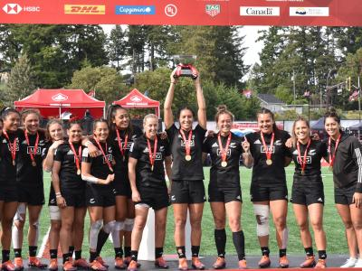 Black Ferns sevens win Langford Sevens to qualify for Tokyo 2020