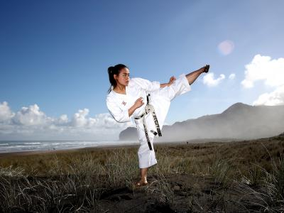 World Beach Games perfect Olympic test for karate athletes