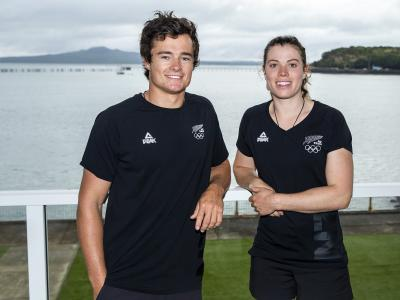 Return to sport: Sailors Micah Wilkinson and Erica Dawson