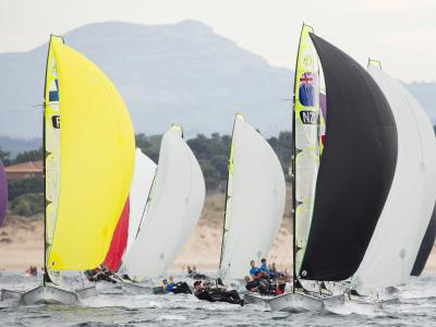 49er pair target Tokyo Olympic Games after strong showing at world champs