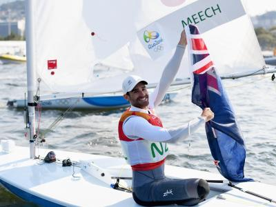 Great day for sailors highlighted by Meech's bronze