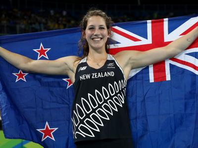 McCartney wins bronze in pole vault