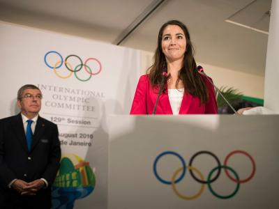 Walker elected to Athletes' Commission