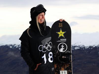 Christy Prior wins Big Air World Cup Bronze in Germany