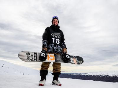 New Zealand Winter Olympians ready for Snowboard Slopestyle course