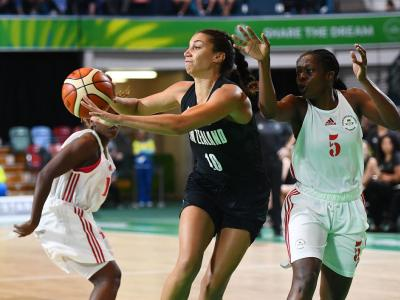 Basketball women book semi against Australia