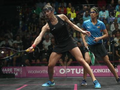 Top teams still in squash medal hunt
