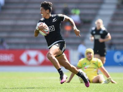 Black Ferns Sevens back up Commonwealth Games gold with emphatic World Sevens Series win