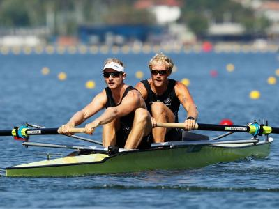 Most big names through in rowing