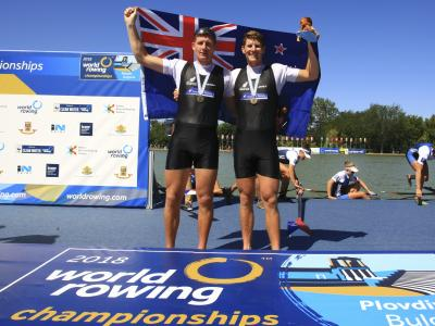 Three medals for Kiwi rowers at World Champs