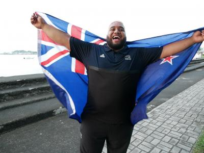 Weightlifter David Liti named flagbearer for Samoa 2019 Pacific Games