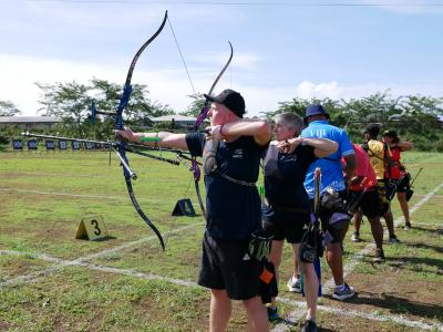 Windy conditions not worrying Kiwi archers in Samoa