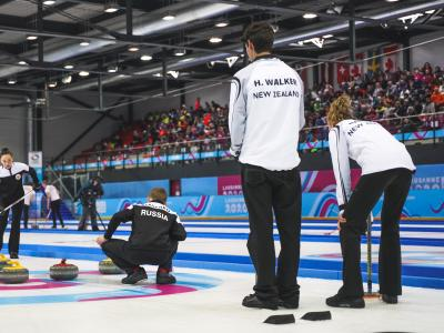 New Zealand Curling Team narrowly misses out on medal at Lausanne 2020