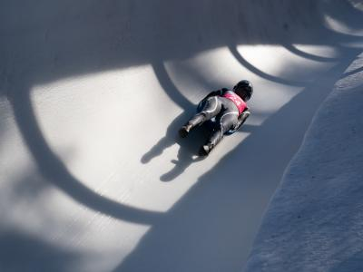 18th place for Ella Cox in women's luge