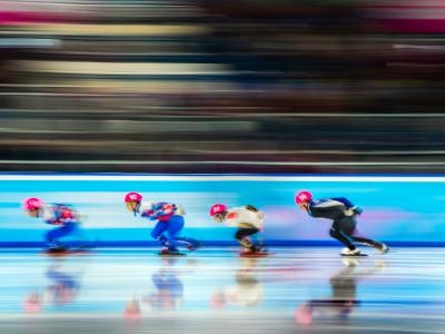 7th place for speed skater at Winter Youth Olympic Games + luge athlete hits 121kph