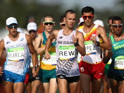 Racewalker set to join Olympic Team