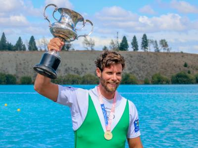 Manson retains single scull title + Olympic and Commonwealth Games athletes shine at Halbergs