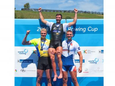 Manson wins as New Zealand claims five golds and a silver at Rowing World Cup