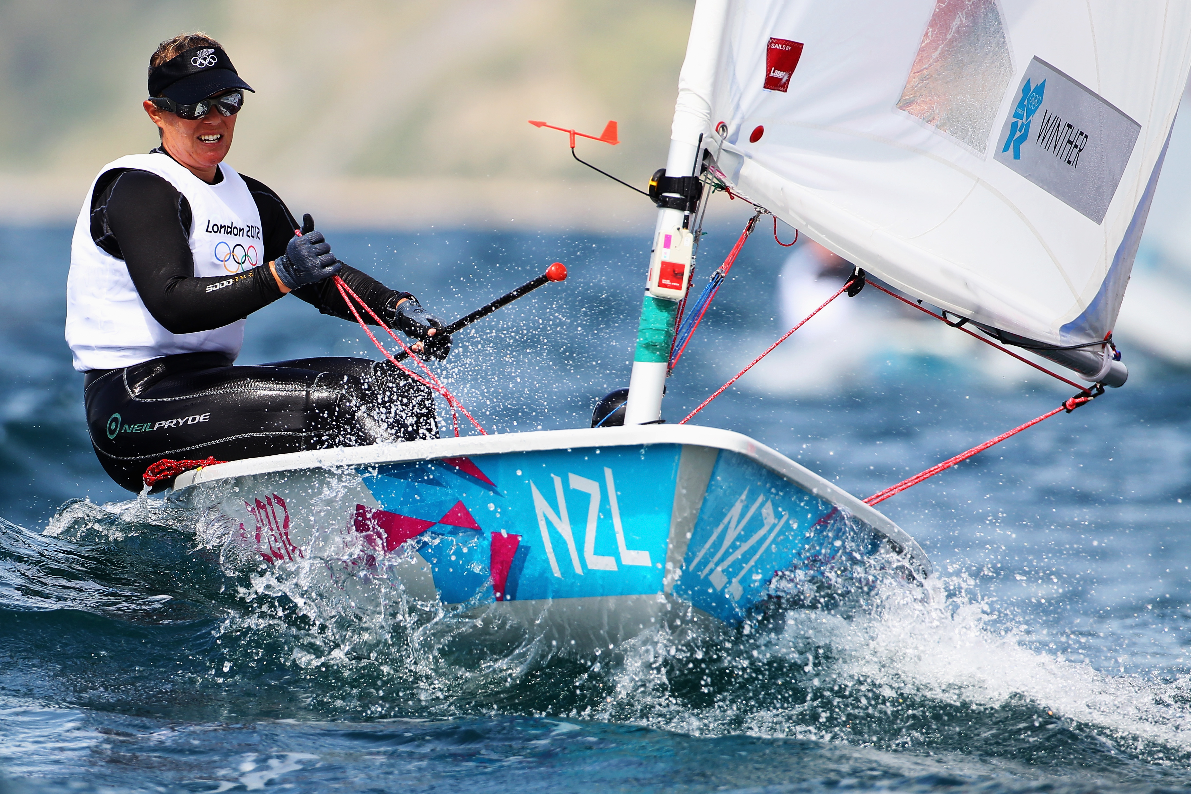Sara Winther New Zealand Olympic Team