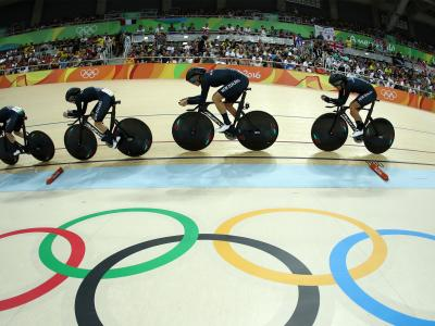 Fourth for women's team pursuit