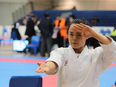 Potential Karate Olympian wins gold at Oceanias