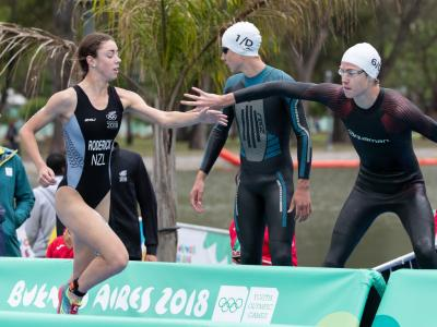 Silver and a Youth Olympic Games record for New Zealand on day five of competition