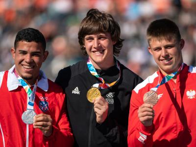 Golden day in the field for New Zealand at Youth Olympic Games + sevens team to play in gold medal match