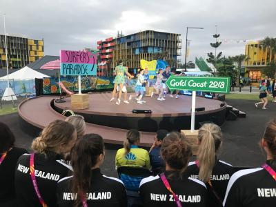 New Zealand Team welcomed to Commonwealth Games Village