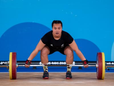 Kiwi weightlifters and BMX athletes shine in international matchups