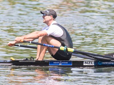 Robbie Manson credits Mahe Drysdale rivalry with making him a better rower
