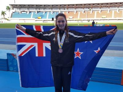 Silver and bronze on final day puts New Zealand third on Commonwealth Youth Games medal table
