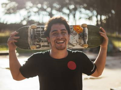 Meet one of NZ's top skaters, Matt Markland