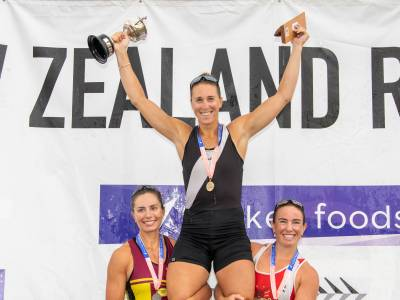 Weekly Wrap: NZ record for javelin thrower + 9th National Title for rower Emma Twigg