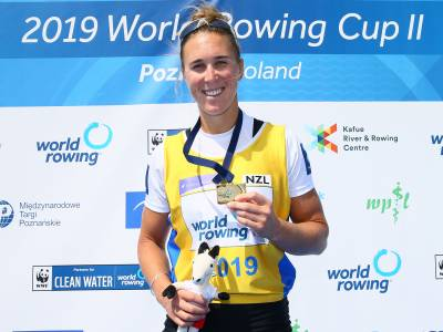 The week that was: A golden day for New Zealand's female rowers at Poland World Cup + paddler Luuka Jones makes history