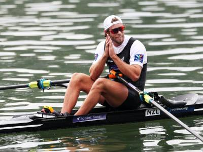 Rower Robbie Manson shares his struggles growing up with his sexuality