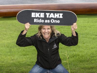 'Eke Tahi' Takes Off On The Great Olympic Skate Roadshow