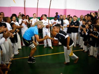 Mangueira Partnership kicked off with New Zealand Olympic athletes in Rio