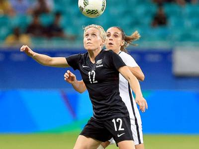 Big defeat for NZ women's footballers