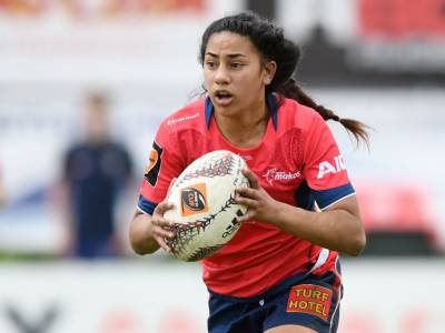 Two minutes with Black Ferns Sevens youngster Risaleaana Pouri-Lane