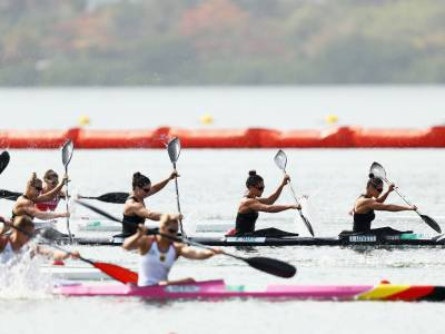 Competition ramps up for kayakers