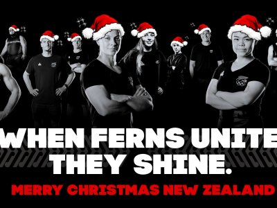 The New Zealand Team Christmas!